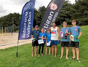 Sportigan Open i beachvolley spillet i Bedsted