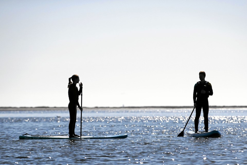 Den 22. september er der Hals-mesterskaber i Stand Up Paddle. Foto: Allan Mortensen