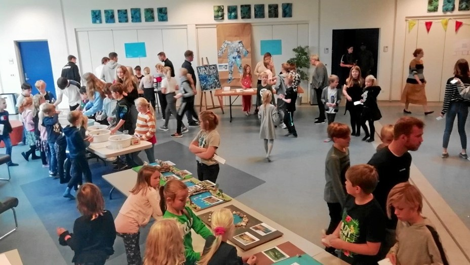 Science Fair på skole i Støvring