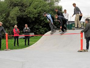 Skaterpark i Tversted